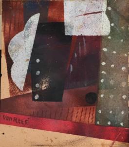 Kubistische-compositie-Otto-van-Rees